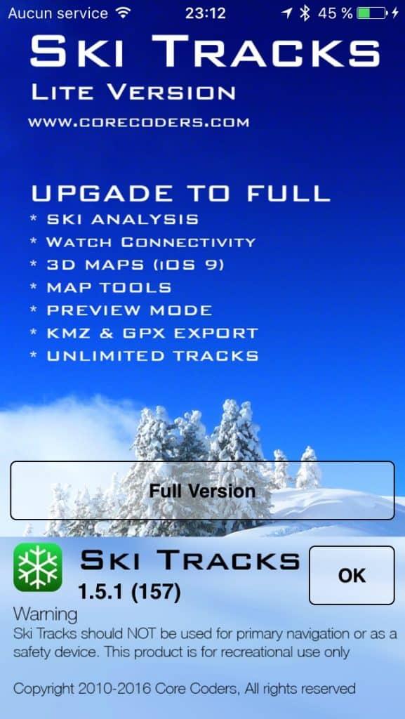 ski tracks lite